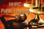 NHRC public hearing