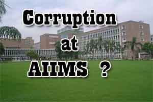 Delhi: Whistleblower strikes again at AIIMS for pending corrupt cases