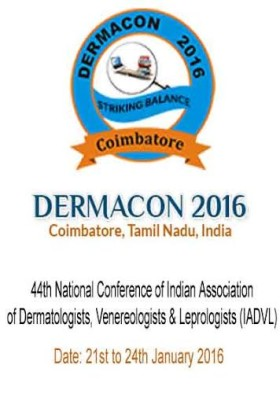 Dermacon 2016- 21st to 24th January, 2016