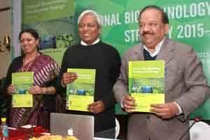 Dr Harsh Vardhan Unveils National Biotechnology Development Strategy 2015-2020