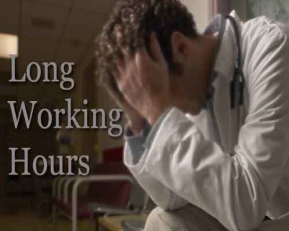 Doctors Alert: Long working hours increase risk for heart attack and stroke