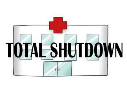 New Delhi: MCD hospitals SHUT as Medical staff goes on Indefinite Strike