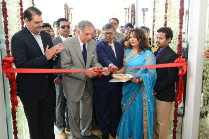 Ratan Tata inaugurates 351-bedded Nayati hospital in Mathura