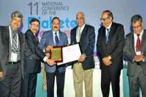 Dr Jitendra Singh conferred prestigious Lifetime Award in Diabetes