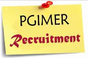 PGIMER Recruitment 2016 for 22 Posts
