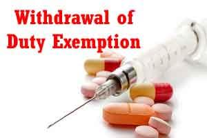 Duty exemption withdrawal on drugs to boost Make in India: Government