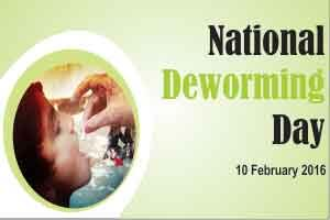 Shri J P Nadda launches National Deworming Day initiative