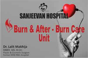 New Delhi: Sanjeevan Hospital launches burns and after burns care unit