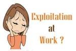 EXPOLITATION AT WORK