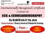 Cygnus Hospital ECG ECho course