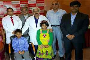 10 year old boy undergoes bypass surgery at Fortis Escort Heart Institute