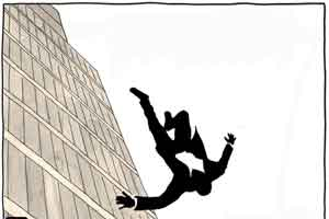 Derilious patient jumps out of the Window. Hospital held negligent
