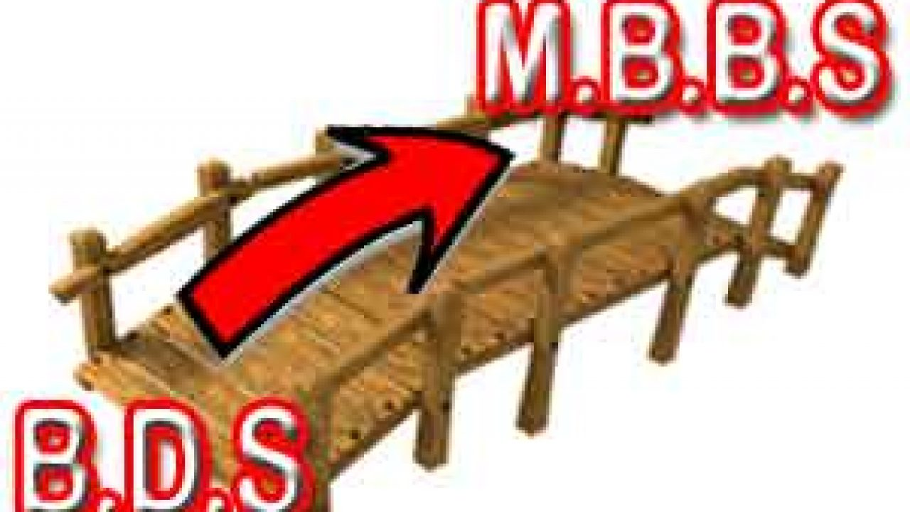 BDS to MBBS Bridge Course: No Proposal With Govt to allow