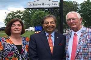 US Street named after Indian Doctor