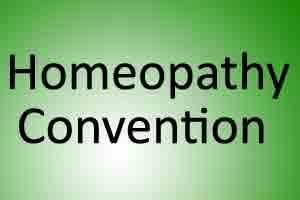 Government to host homeopathy convention