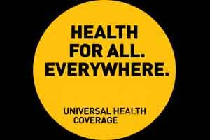WHO urges nations to intensify efforts on universal health coverage