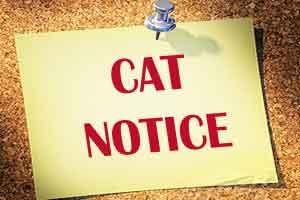 CAT notice to Health Minister and AIIMS Director