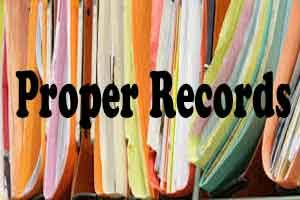 Rs. 1 lakh – Cost for not keeping the Records intact