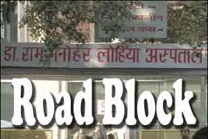 Delhi: Superspeciality wing of RML Hospital hits a roadblock