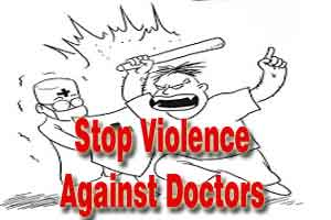 New Delhi: Attendants bite doctor in a mob attack at LHMC, doctors call flash strike