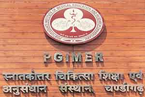 Chandigarh: PGIMER likely to get Best public tertiary care hospital award