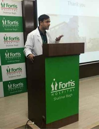New Delhi: Infant with abnormal food pipe cured at Fortis Shalimar Bagh