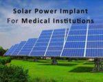 Solar poer implant