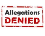 allegations denied