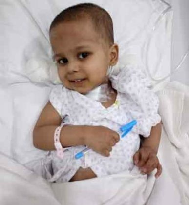 3 Yr old Rudraksh defies rare life threatening condition at Jaypee Hospital
