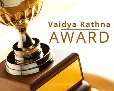 Mysuru : Nine doctors conferred Vaidya Rathna Awards