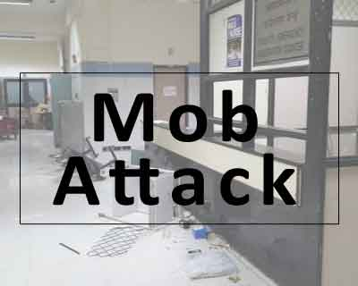 Delhi: Mob vandalizes Dr Baba saheb Ambedkar hospital after a patient dies