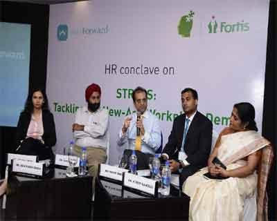 Fortis Healthcare and wayForward collaborate to combat workplace stress