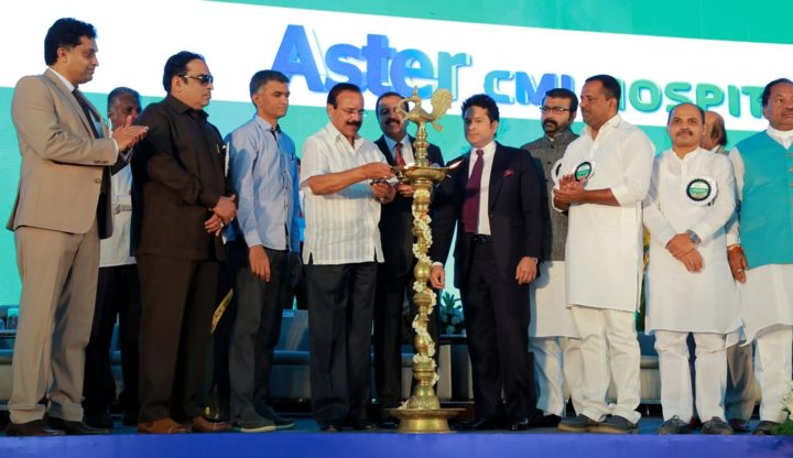 Lamp Lighting Ceremony at Aster CMI Hospital Inauguration (1)