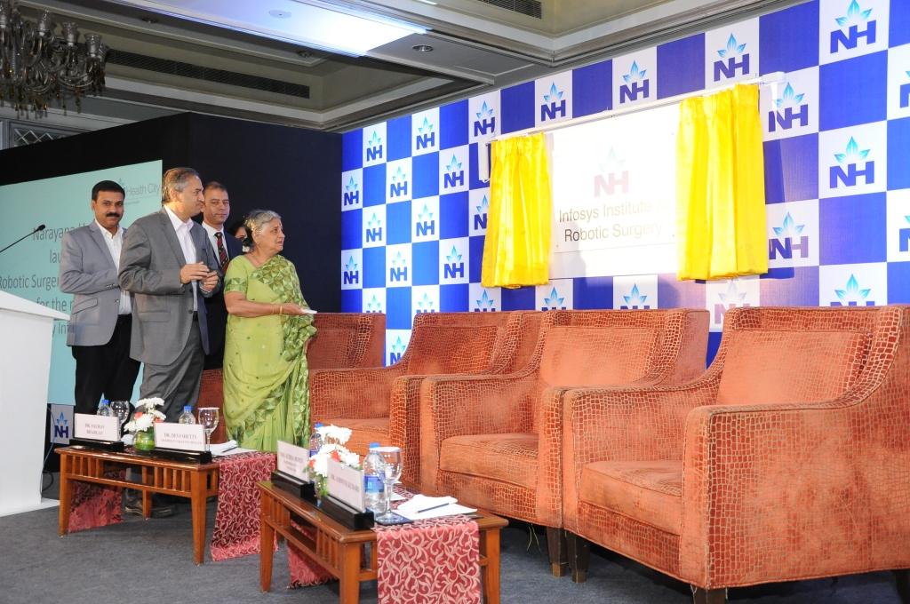 Narayana Health,Infosys Foundation Launches Robotic Surgery Training Program