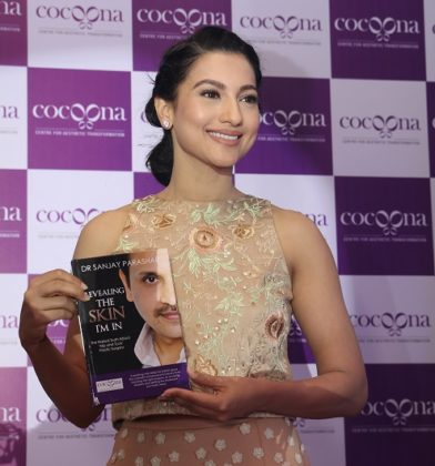 New Delhi:Actress Gauahar Khan launches Cocoona Centre for Aesthetic Transformation