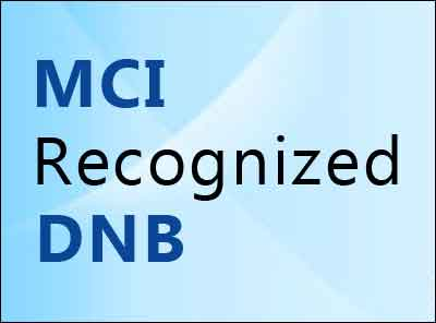 MCI recognized DNB courses, Check out the details