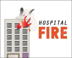 Gujarat: Fire breaks out in Paediatric Hospital building