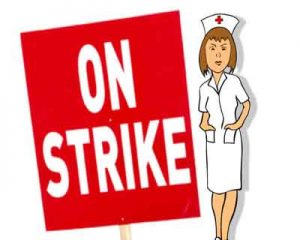 New Delhi: 300 Nurses of Prominent private Hospital call it a strike