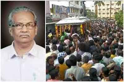 Coimbatore : City gathers to pay last respect to Rs 20 Doctor