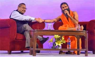Dr Trehan, Baba Ramdev announce the fusion of modern and ancient medicine