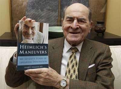 Dr Henry Heimlich, developer of Heimlich Maneuver to save choking victims, dead at 96