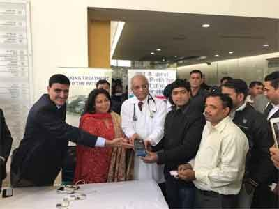 Mathura: Nayati Multi Super Specialty Hospital partners with PNB to install micro ATM
