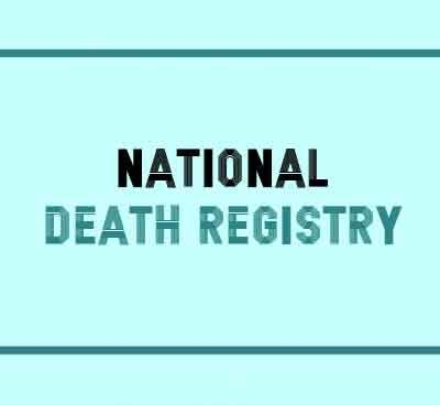 National Death Registry to be set up using Systematized Nomenclature of Medicine