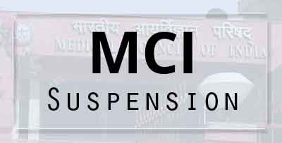 MCI Inspection: Vice Chancellor Registration Cancelled for 3 years, for giving false information