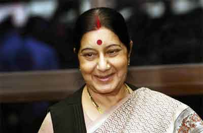 Doctors laud Sushma Swaraj for taking admission in government hospital