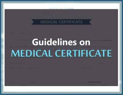 Lack of Guidelines on Medical Certificate by irks Rajasthan High Court