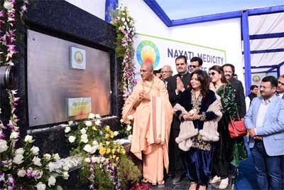 Nayati healthcare lays foundation stone of 1100 bedded centre in Amritsar