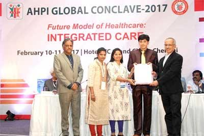 Patient Friendly Hospital- KIMS Hospitals Receives Prestigious AHPI Award 2017