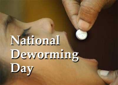 Health Ministry conducts National Deworming Day
