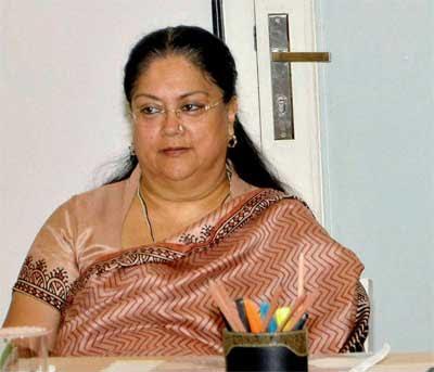 Rajasthan emerging as a medical hub: Vasundhara Raje